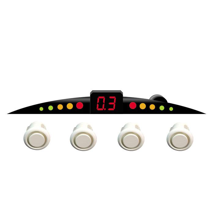ParkCity Ultra Slim New 418/110, White парковочный радар ( 00000007866 )