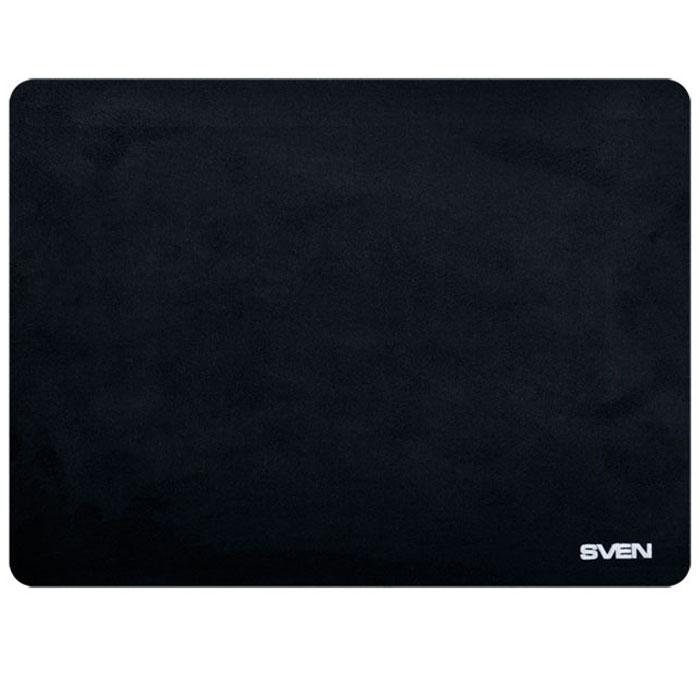 Sven HP, Black коврик для мышиSV-009892Коврик для компьютерной мыши Sven CK имеет верхний слой из флоковой ткани и основание из вспененной резины - высокотехнологичных экологических материалов, обеспечивающих надежное сцепление с поверхностью стола и плавное скольжение мыши.