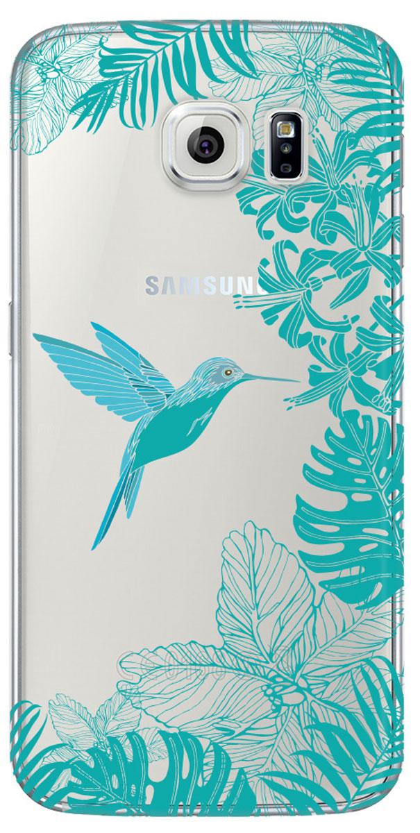 Deppa Art Case чехол для Samsung Galaxy S6, Jungle (колибри)100169Чехол Deppa Art Case для Samsung Galaxy S6 предназначен для защиты корпуса смартфона от механических повреждений и царапин в процессе эксплуатации. Имеется свободный доступ ко всем разъемам и кнопкам устройства. Чехол изготовлен из поликарбоната толщиной 1 мм и оформлен ярким принтом с изображением колибри. В комплект также входит защитная пленка из трехслойного японского материала PET.