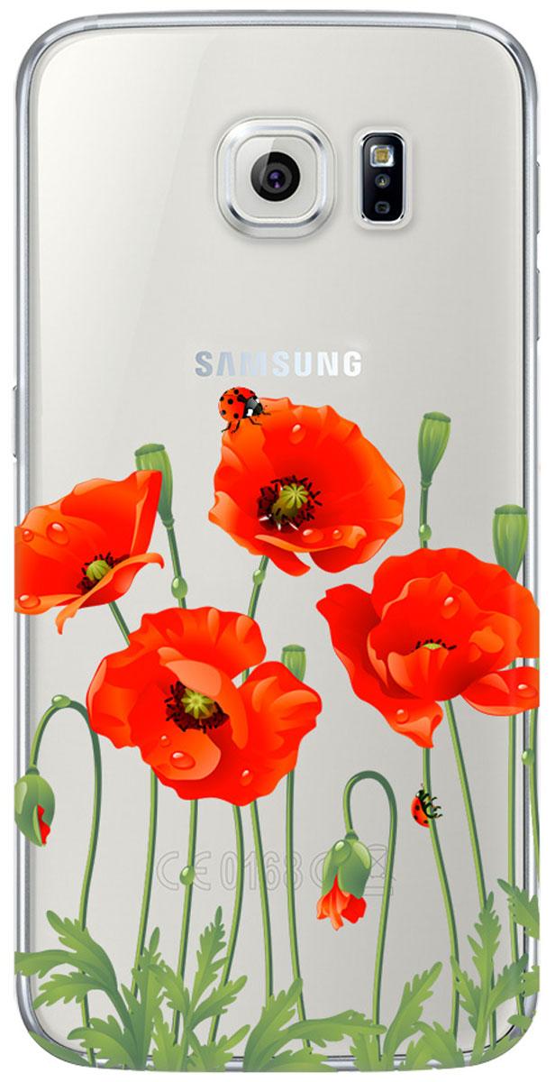 Deppa Art Case чехол для для Samsung Galaxy S6, Flowers (мак)100118Чехол Deppa Art Case для Samsung Galaxy S6 предназначен для защиты корпуса смартфона от механических повреждений и царапин в процессе эксплуатации. Имеется свободный доступ ко всем разъемам и кнопкам устройства. Чехол изготовлен из поликарбоната толщиной 1 мм и оформлен принтом с изображением цветков мака. В комплект также входит защитная пленка из трехслойного японского материала PET.
