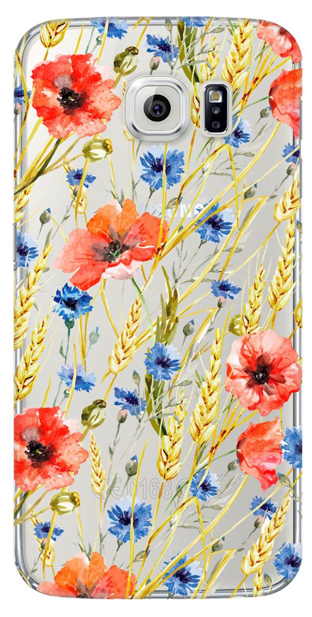 Deppa Art Case чехол для для Samsung Galaxy S6, Flowers (пшеница)100117Чехол Deppa Art Case для Samsung Galaxy S6 предназначен для защиты корпуса смартфона от механических повреждений и царапин в процессе эксплуатации. Имеется свободный доступ ко всем разъемам и кнопкам устройства. Чехол изготовлен из поликарбоната толщиной 1 мм и оформлен принтом с изображением цветов и колосьев пшеницы. В комплект также входит защитная пленка из трехслойного японского материала PET.