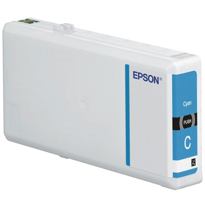Epson T7902 XL (C13T79024010), Cyan картридж для WorkForce Pro WF-5xxxC13T79024010Картридж повышенной емкости Epson T7902 XL с голубыми чернилами для Epson WorkForce Pro служит для печати превосходных фотоснимков и рассчитан на 2600 страниц печати.