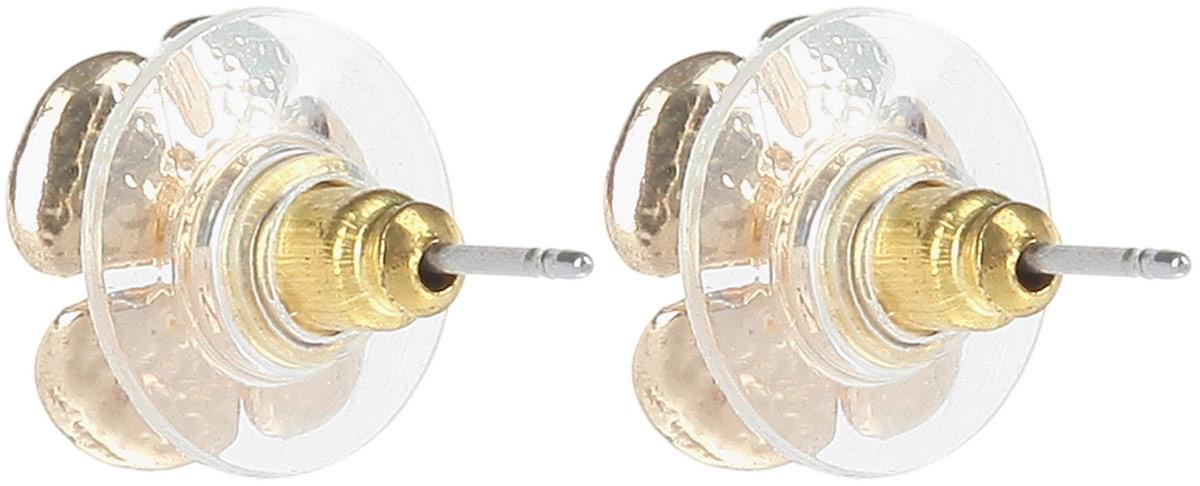 Комплект украшений Avgad: колье, серьги, цвет: золотистый, красный. H-477S973