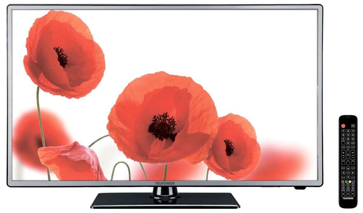 Telefunken TF-LED50S28T2 телевизор328490Новая модель Telefunken TF-LED50S28T2 прежде всего, обращает на себя внимание своим внешним видом – фронтальная часть корпуса выполнена из металла, который выглядит не только современно, но и дорого. Telefunken TF-LED50S28T2 - это Full HD-телевизор с разрешением 1920 х 1080, что даёт стабильную прогрессивную развертку изображения и насыщенную цветопередачу с глубоким чёрным цветом. Аббревиатура T2 не случайно обосновалась в названии данной модели ведь она оснащена DVB-T/T2-тюнером для приёма открытых и закрытых (через карту оператора СI/CI+) цифровых каналов. Телевизор работает с форматами DVB-T/DVB-T2/DVB-C (цифровое эфирное и кабельное вещание). Меню настроек позволяет сохранить в памяти 100 аналоговых и 400 цифровых каналов, а также программировать название канала. Telefunken TF-LED50S28T2 имеет в своём арсенале наиболее популярные и часто используемые опции – таймер включения / выключения в режиме PVR, Sleep timer, программирование каналов. Для...