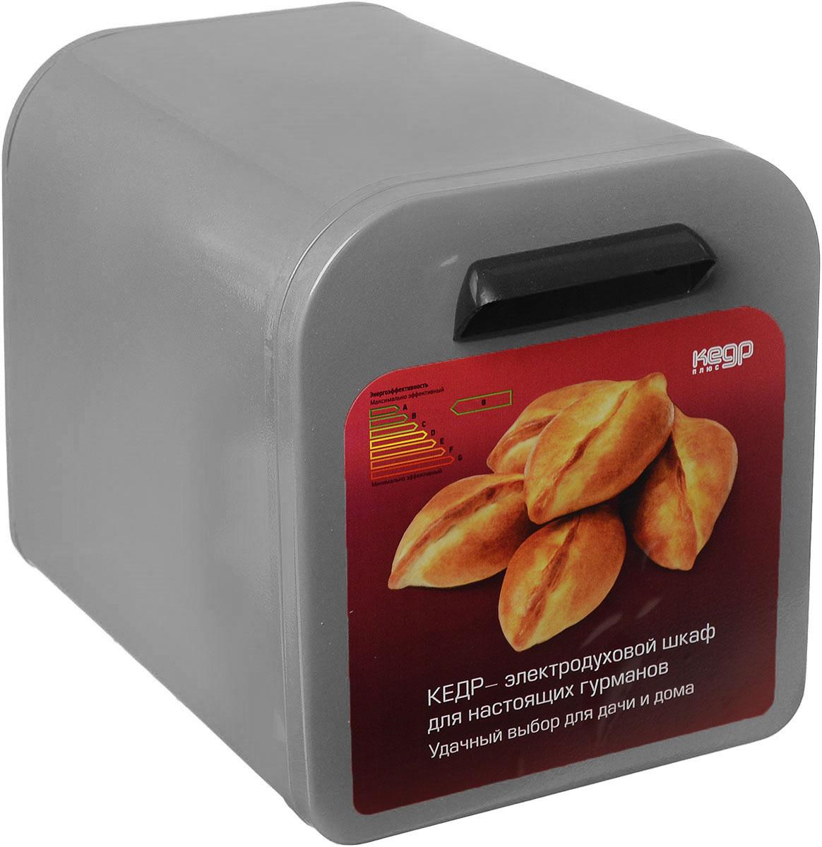 Кедр ЖШ-0,625/220, Grey жарочный шкафЖШ-0,625/220Жарочный шкаф Кедр предназначен для выпечки в домашних условиях различных изделий из теста, а также для запекания картофеля и приготовления блюд из мяса, птицы, рыбы. Также в нем можно сушить ягоды, грибы и фрукты. Идеален для использования дома, на даче или в гараже. Этот жарочный шкаф отличается низким энергопотреблением - всего 0,625 кВт, что обеспечивает значительную экономию электроэнергии по сравнению с микроволновой печью и бесперебойную работу в условиях нестабильного электроснабжения в сельской местности, имеет большой срок службы - до 20-ти лет. Но, пожалуй, главная его особенность и уникальность заключается в том, что он создает эффект русской печи. Так происходит, потому что тепло по всему периметру жарочного шкафа распределяется равномерно и как бы окутывает блюдо со всех сторон. В процессе приготовления еды не задействованы микроволны, о вреде которых идет так много споров. А, значит, жарочный шкаф Кедр составит хорошую...