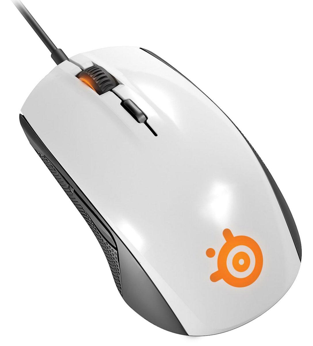 SteelSeries Rival 100, White игровая мышь
