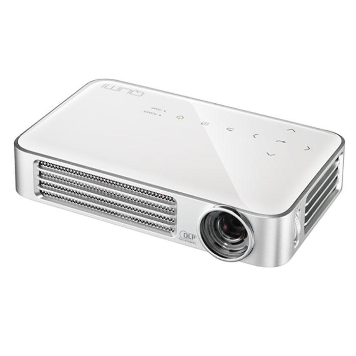 Vivitek Qumi Q6, White мультимедийный проектор22883Проектор Qumi Q6 - это HD разрешение, расширенные возможности беспроводного подключения источников сигнала и стильный внешний вид. При этом, вы с легкостью уберете Q6 в карман пиджака! Новинка специально разработана для полной совместимости с различными мобильными устройствами и прекрасно подойдет тем, кто желает демонстрировать контент на экран с диагональю 100 дюймов. Проектор обладает высоким световым потоком в 800 ANSI Lm и контрастностью 30 000:1. В качестве источника света Qumi Q6 использует светодиоды с временем непрерывной работы 30 000 часов, а это многие годы уверенной работы без снижения яркости и качества цветопередачи. В Qumi Q6 установлен порт MHL, позволяющий передавать цифровой контент со смартфонов и планшетов. Встроенный медиаплеер понимает огромное количество различных форматов видео, аудио, файлов изображения и электронных документов. Для тех, кто хочет использовать Q6 без источника сигнала, отличную службу...