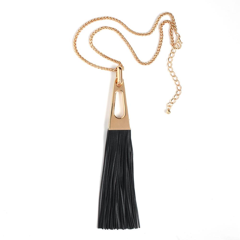"""Selena Селена Подвеска Selena """"Street Fashion"""", цвет: золотой, черный. 10096721"""