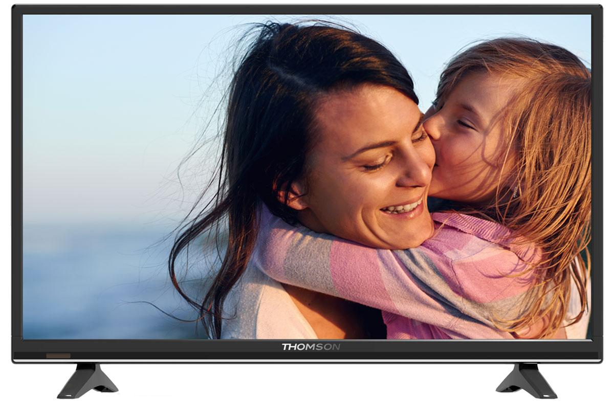 Thomson T28D15DH-01B телевизорT28D15DH-01BТелевизор Thomson T28D15DH-01B с насыщенной цветопередачей изображения с HD-разрешением и широкими углами обзора. Встроенный цифровой тюнер телевизора имеет электронный модуль со слотом CI+, который позволяет просматривать кодированные телевизионные сигналы. Источником сигнала для качественной реалистичной картинки служат не только цифровые эфирные и кабельные каналы, но и любые записи с внешних носителей, благодаря универсальному встроенному USB-медиаплееру.