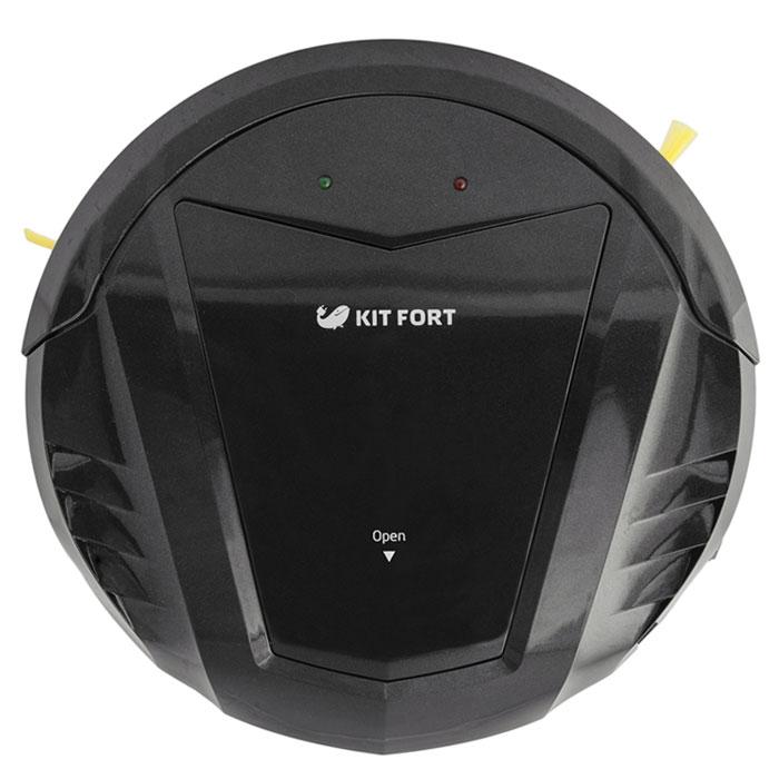 Kitfort KT-511-1, Black робот-пылесосKT-511-1 чёрныйМодель Kitfort КТ-511 создана для непритязательных пользователей, которым нужен простой и недорогой робот- пылесос, без лишних наворотов, который будет каждый день убираться в квартире и делать это качественно. Например, кому-то не нужен ограничитель действия виртуальная стена, идущий в комплекте с большинством пылесосов; многие не пользуются функцией уборки по графику, потому что гораздо удобнее вручную запустить пылесос в соседней комнате, чтобы он не мешал, или же перед уходом на работу. Ради удовлетворения такой потребности был создан робот-пылесос Kitfort KT-511. Он не имеет в комплекте базы для автоподзарядки, ограничителя виртуальная стена и пульта дистанционного управления. В комплекте идет лишь зарядное устройство и инструкция по использованию. У пылесоса нет дисплея и никаких кнопок. Благодаря этому пылесос прост в управлении и стоит недорого. Тем не менее, он обладает приятными особенностями, на которых стоит остановиться подробнее. ...