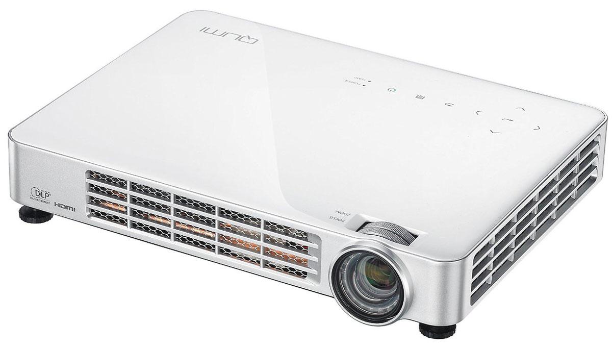 Vivitek Qumi Q7 Lite, White мультимедийный проектор20748Компания Vivitek анонсировала новый HD LED проекторы суперпопулярной серии Vivitek Qumi Q7 Lite. Модель основана на технологии DLP и обладает развитым функционалом для бизнеса и развлечений. Vivitek Qumi Q7 Lite специально разработан для современных, активных людей, ищущих новые возможности в бизнесе и неповторимые ощущения на отдыхе. Будь то яркая презентация без использования компьютера, просмотр видео на экране с диагональю 2,5 метра, компьютерная игра с небывалым эффектом погружения или что-то другое. Q7 Lite – это инновационное, портативное устройство, обладающее всеми самыми современными проекционными технологиями. Особенностью Vivitek Qumi Q7 Lite является акцент на работе с актуальными мобильными гаджетами: смартфонами, планшетами, цифровыми камерами, ноутбуками, игровыми консолями. Светодиодный источник света отличается компактностью, низким энергопотреблением и чрезвычайно длительным периодом работы – до 30 000 часов или...
