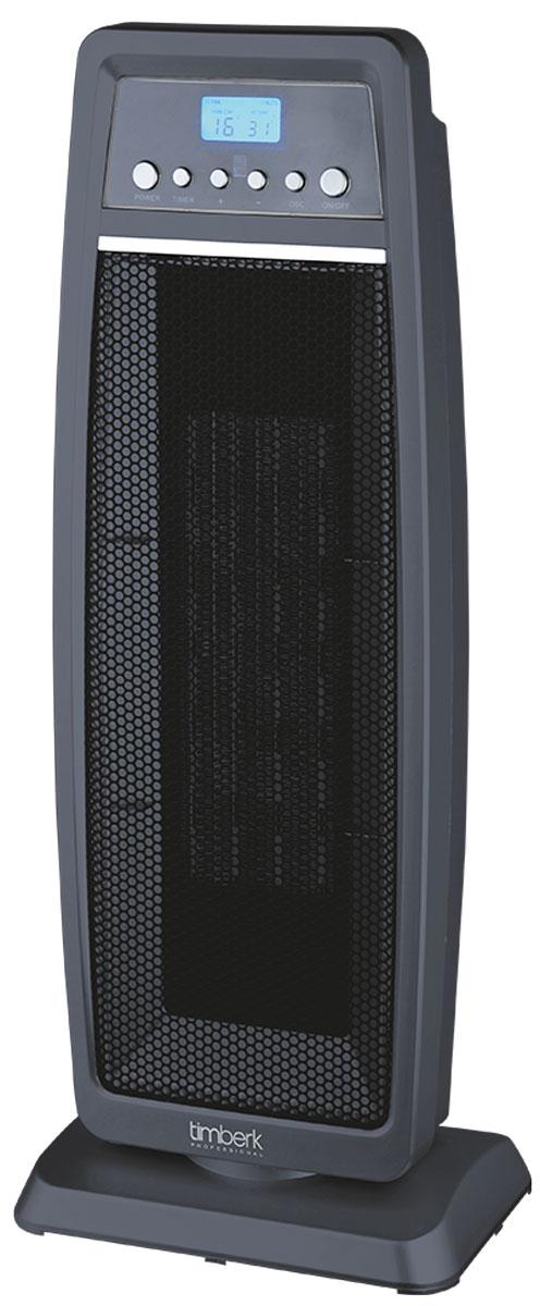 Timberk TFH T20FSN.PQ тепловентиляторTFH T20FSN.PQТепловентилятор Timberk TFH T20FSN.PQ обладает элегантным дизайном с благородным темно-серым цветом пластика. Функция автоматического поворота обеспечивает равномерное распространение горячего воздуха в помещении. Многофункциональный эргономичный LCD-дисплей, а также специальная форма кнопок на панели Easy Touch делают управление прибором простым и понятным. Варианты воздушного потока: холодный, теплый, горячий воздух Пульт Д/У в комплекте Два режима мощности на выбор (1200 Вт и 2000 Вт) Встроенный многоразовый фильтр для очистки воздуха (входит в комплект) Режим холодного потока воздуха Таймер от 1 до 8 часов