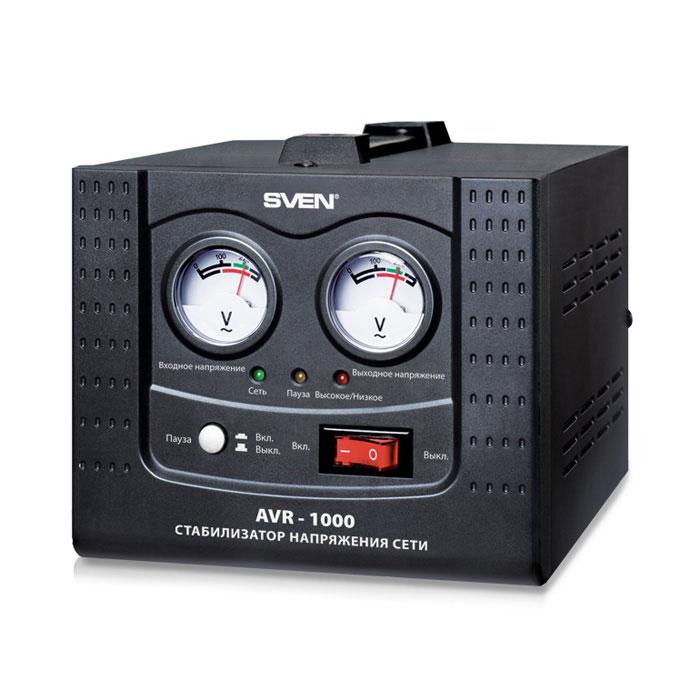 Sven AVR-1000 стабилизатор напряжения ( SV-0211AVR1000 )