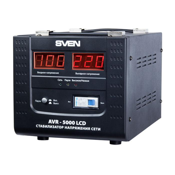 Sven AVR-5000 LCD стабилизатор напряжения