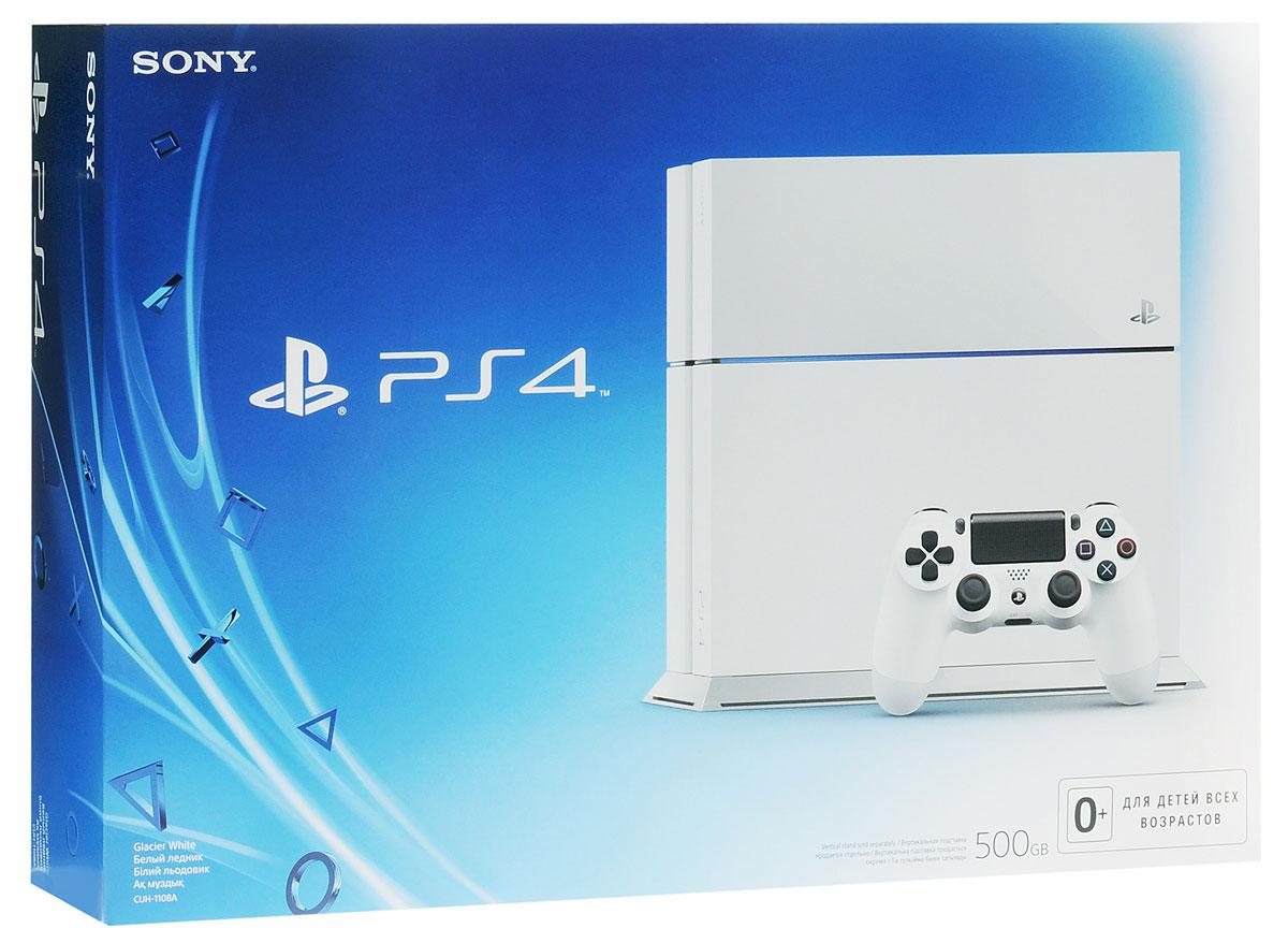 Игровая приставка Sony PlayStation 4 (500 GB), White