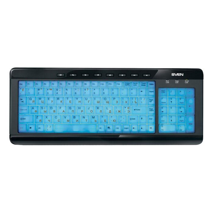 Sven Comfort 7200 EL клавиатура