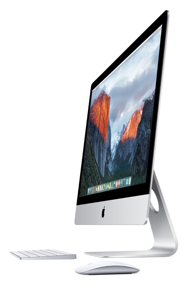 Apple iMac 27 Retina 5K (MK472RU/A) моноблокMK472RU/AApple iMac 27 Retina 5K объединяет всё лучшее из мира Mac: мощные технологии, отличную производительность, самую передовую в мире компьютерную операционную систему и великолепные встроенные приложения. А невероятное разрешение 5120 х 2880 пикселей позволит вам увидеть на экране всё, чего вы не видели раньше. Где бы ни находился ваш iMac - в студии, в гостиной или на кухне, - его экран неизменно остаётся в центре внимания. Это окно в вашу жизнь. Поэтому мы приложили столько усилий, чтобы сделать его действительно великолепным. Текст на экране настолько приятно читать, как будто перед вами печатная страница. Фотографии раскрывают все детали, о которых вы раньше и не догадывались. А видео выглядит ещё естественнее, чем реальный мир. Почти всё, что появляется на экране, содержит текст. В разрешении 5120 x 2880 пикселей он выглядит ещё чётче, чем прежде. Вам покажется, что просмотр сайтов, работа с электронной почтой и картами и другие привычные действия теперь...