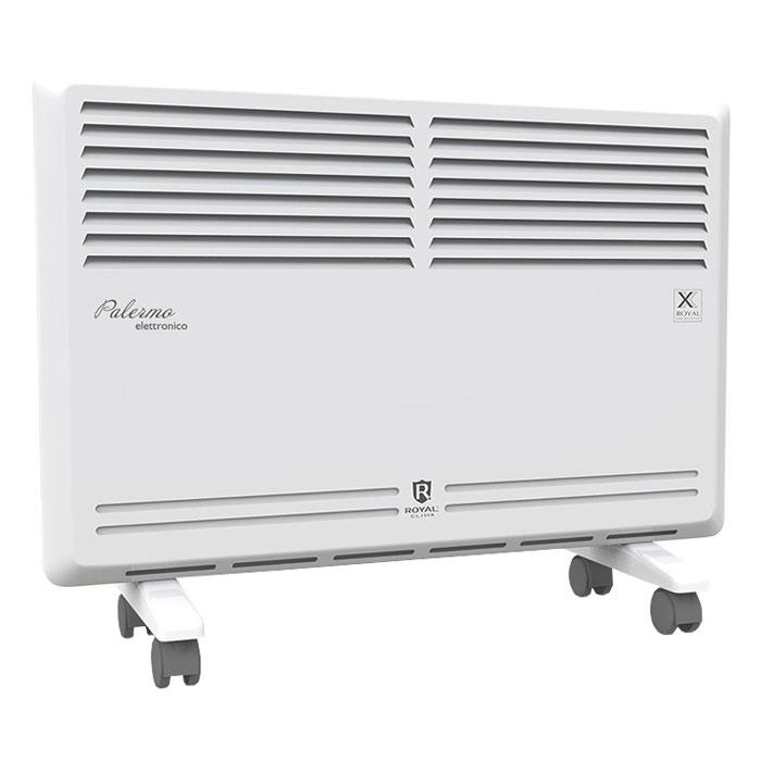 Royal Clima REC-P1500M конвекторREC-P1500MОтличительной чертой серии конвекторов Royal Clima с механическим управлением является специальная конструкция конвективной камеры и воздухонаправляющего сопла для обеспечения мощного равномерного прогрева помещения. Благодаря данной конструкции теплый воздух направляется к полу, исключая появления холодных зон. Высокоэффективный алюминиевый монолитный X-образного нагревательного элемента X-Royal Long Life Heater обеспечивает не только равномерный прогрев проходящего через него воздуха, но и быстрый разогрев и защиту от пересушивания воздуха. На свое усмотрение пользователь может выбрать 3 ступени мощности работы, а встроенная защита от опрокидывания, высокий класс пылевлагозащиты и высококачественное покрытие корпуса, комплект для настенной и напольной установки (мобильные шасси) сделает использование конвектора удобным и безопасным. Особенности прибора: Повышенный срок службы до 25 лет Мгновенный разогрев за 10-20 секунд 3 режима...