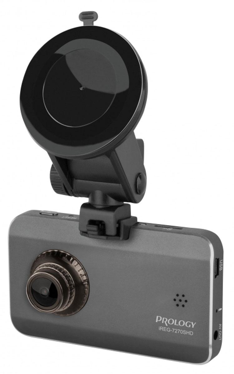 Prology iREG-7270 SHD автомобильный видеорегистраторPROLOGY iREG-7270 SHDАвтомобильный видеорегистратор Prology iREG-7270 SHD с улучшенным режимом ночной съемки и разрешением Super HD (2304х1296). Построен на высокопроизводительном видеопроцессоре Ambarella A7L с использованием оригинальной микропрограммы обработки видеопотока. Высокое качество ночной съемки и отсутствие смазываний на динамичном видео стало возможным благодаря применению скоростной CMOS-матрицы Omni Vision OV4689, имеющей короткое время формирования кадра. Режим WDR (Wide Dynamic Range) не допускает ослепления встречными фарами и потерю детализации на темных участках видео. Высокоточный гибридный объектив с кварцевыми линзами обеспечивает угол обзора 135 градусов с последующей коррекцией для получения правильной геометрии изображения. Матрица OmniVision OV4689 Процессор Ambarella A7LA70 Прецизионная 6-линзовая оптическая система с кварцевыми стеклами Длительность фрагмента записи: 2/5/10 минут Функция...