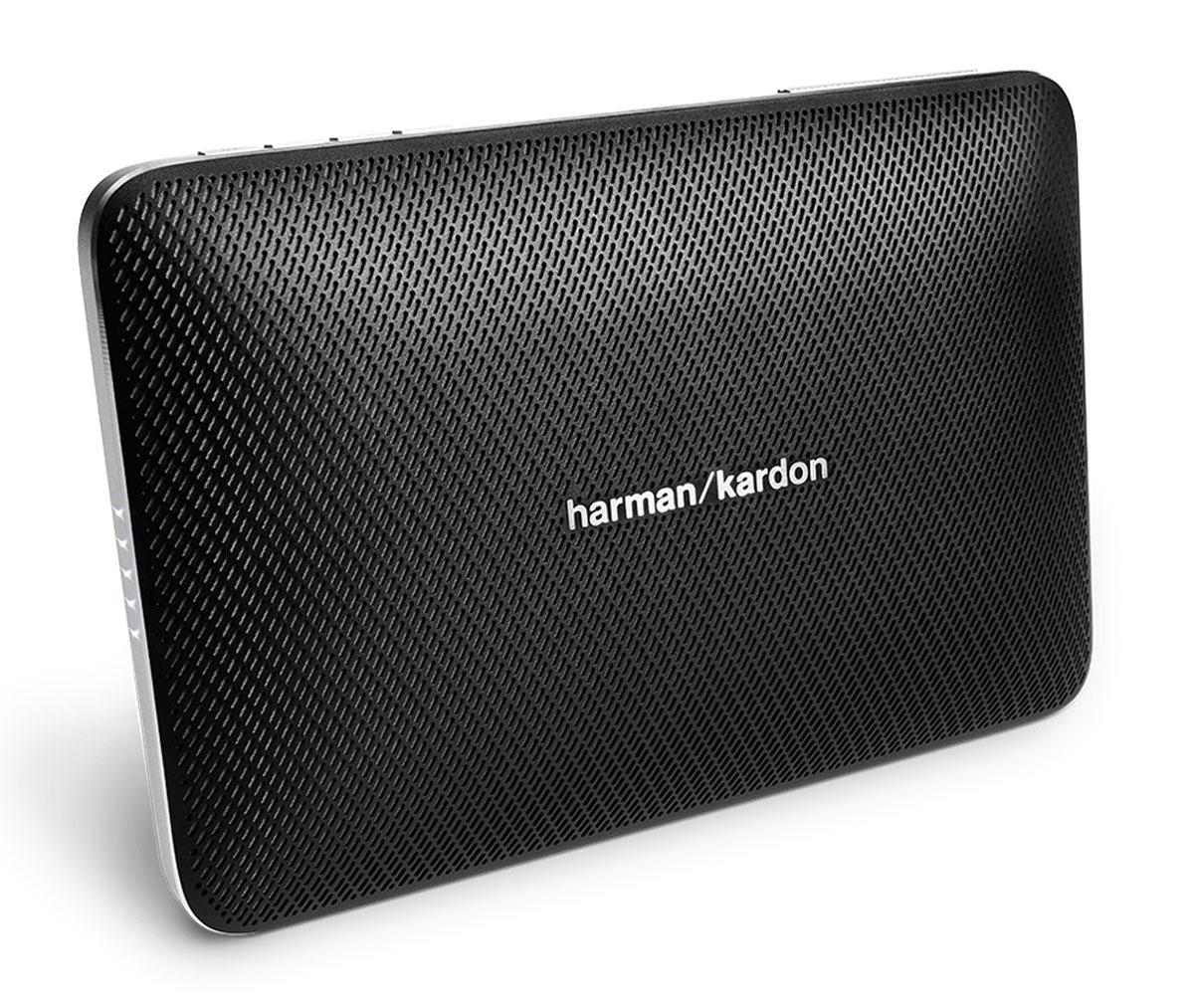 Harman Kardon Esquire 2, Black портативная акустическая системаHKESQUIRE2BLKHarman Kardon Esquire 2 - беспроводная Bluetooth-колонка, ставшая сосредоточением мастерства и производительности, высококачественных материалов и современных возможностей. Данная модель обеспечивает богатое высококлассное звучание благодаря передовым разработкам в акустике и четырем профессионально настроенным динамикам. Эта портативная колонка обладает технологией Bluetooth для беспроводного соединения, а также USB-портом для подзарядки телефонов и других устройств. Еще одно отличие Esquire 2 - беспрецедентная система конференцсвязи. Под цельным алюминиевым корпусом расположились четыре микрофона с технологией эхо- и шумпоподавления VoiceLogic с окружающим звучанием 360 градусов. Вы услышите все до последней буквы – даже в самых шумных местах. Исполненный в тонком форм-факторе и невесомом дизайне, Esquire 2 легко скользнет в чемодан или сумочку, но также станет центром притяжения в конференц-зале. Необязательно все время...