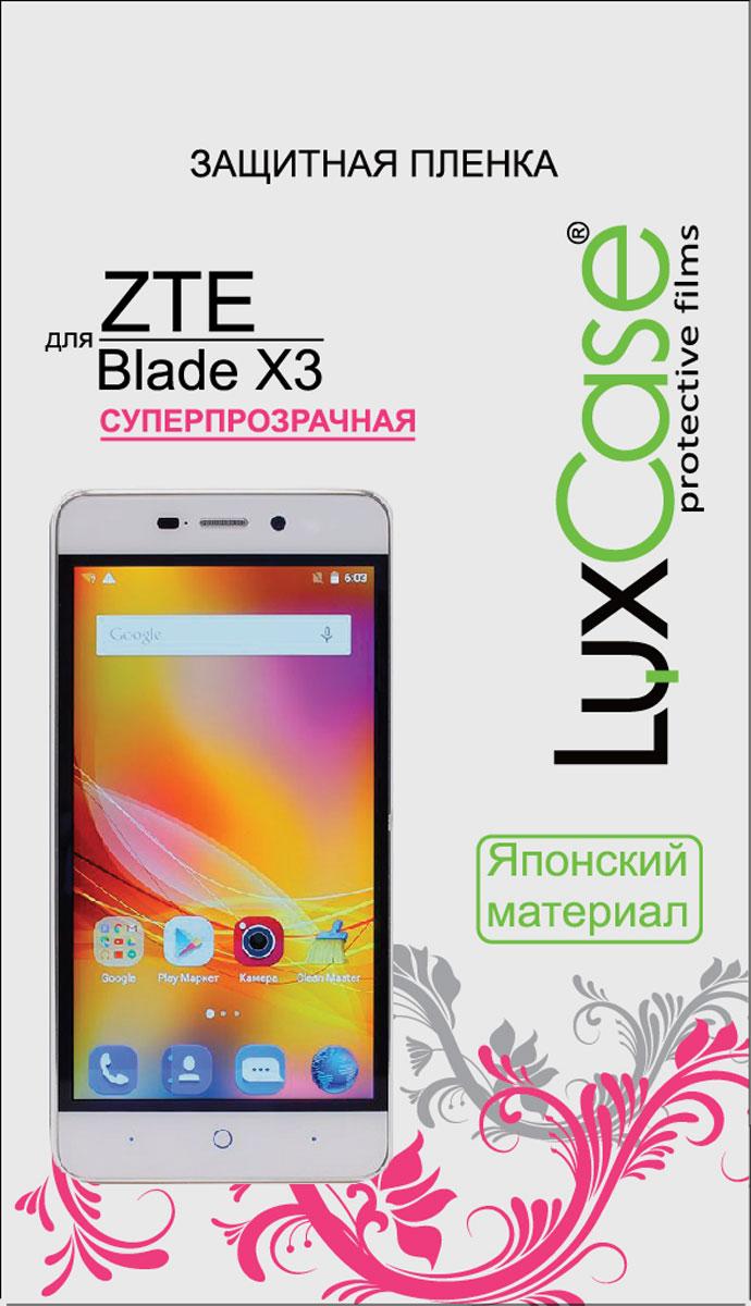 LuxCase защитная пленка для ZTE Blade X3, суперпрозрачная
