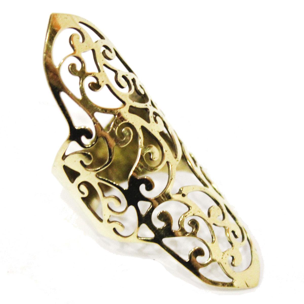 Кольцо Ethnica, цвет: золотой. 165090_2165090Стильное кольцо Ethnica выполнено из металлического сплава, оформлено оригинальным ажурным плетением. Элегантное кольцо Ethnica превосходно дополнит ваш образ и подчеркнет отменное чувство стиля своей обладательницы.