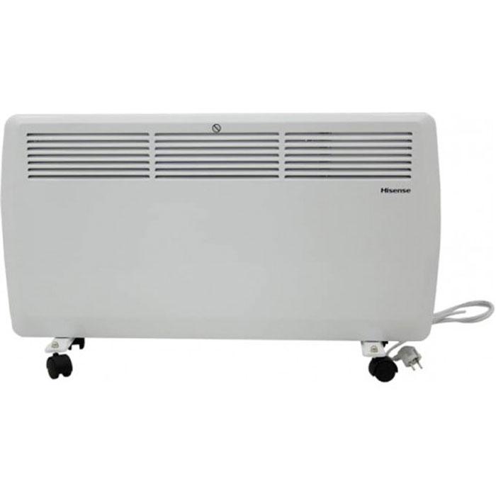 Hisense ND20-43J(E) конвекторND20-43J(E)Конвекторы Hisense серии Heat Air сочетают в себе высочайшее качество, функциональность, продуманный подход к процессу обогрева и утонченный дизайн. Конвекторы Hisense Heat Air произведены с соблюдением самых жестких мировых требований к безопасности. Все электрические элементы отделены от воздушного канала специальными отсекателями. Использованный сверхдолговечный никелево-стальной нагревательный элемент, установленный на керамических изолирующих втулках, имеет высочайшую жесткость и надежность и фактически не имеет аналогов на российском рынке. Благодаря встроенному сенсору опрокидывания, защиты от перегрева и высокому классу влагозащиты IP22 конвектор можно безопасно использовать даже в детской комнате. Также серия обладает целым рядом необходимых режимов и опций, такими, как 2 режима выбора уровня мощности, дополнительная изоляция клавиш переключения и плавная регулировка температуры. Установить конвектор на пол или на стену проще...