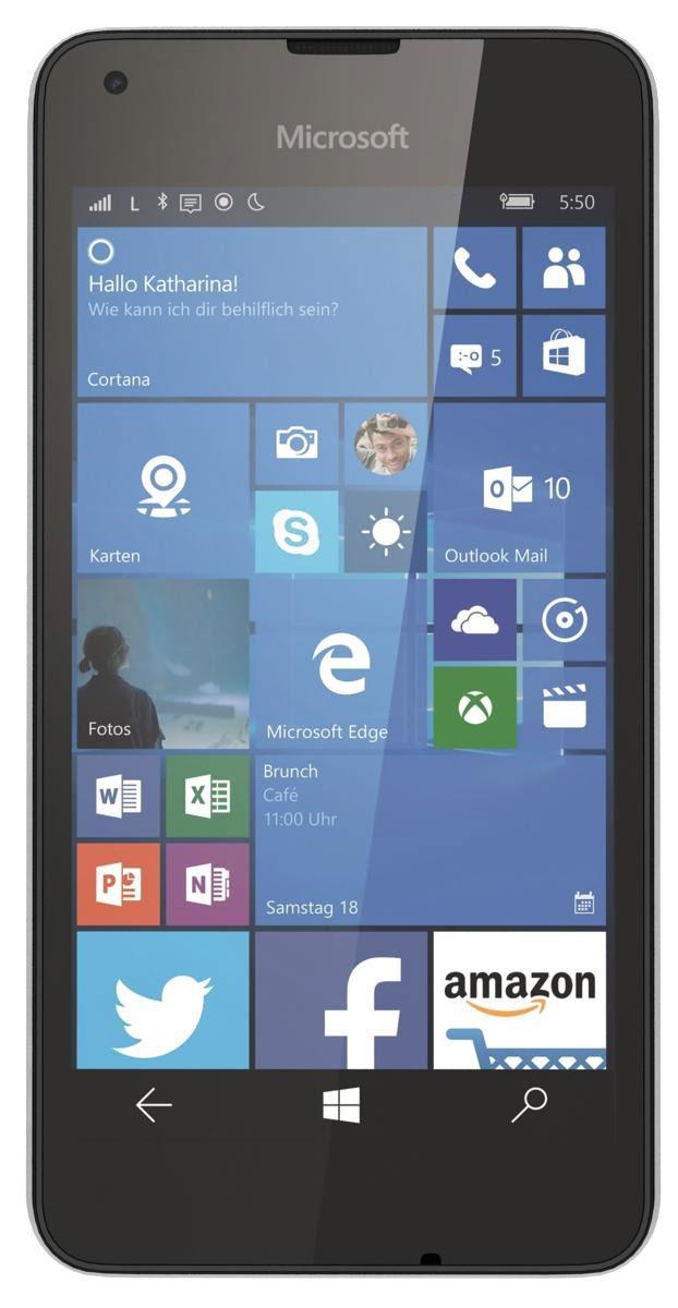 Microsoft Lumia 550, WhiteA00026498Смартфон Microsoft Lumia 550 - это все возможности Windows 10 по приемлемой цене. Благодаря поддержке сетей 4G (LTE), эффективной многозадачности и абсолютно новому браузеру Microsoft Edge вы сможете быстрее получать нужную вам информацию. На Lumia 550 установлена последняя версия любимых приложений Office. Word, Excel и PowerPoint оптимизированы для использования на мобильных устройствах. Они идеально работают на телефоне, а благодаря разнообразным встроенным средствам редактирования новое приложение Outlook Mail позволяет легко работать с почтой в дороге. Благодаря Windows 10 на Lumia 550 вы получите доступ к великолепным сервисам и приложениям Microsoft, уже знакомым вам по их версиям для компьютера. Благодаря OneDrive вы сможете бесплатно и безопасно хранить документы в облаке и беспрепятственно получать доступ к ним с возможностью редактирования на своем телефоне. Lumia 550 создан для сетей 4G (LTE), поэтому вы сможете передавать...
