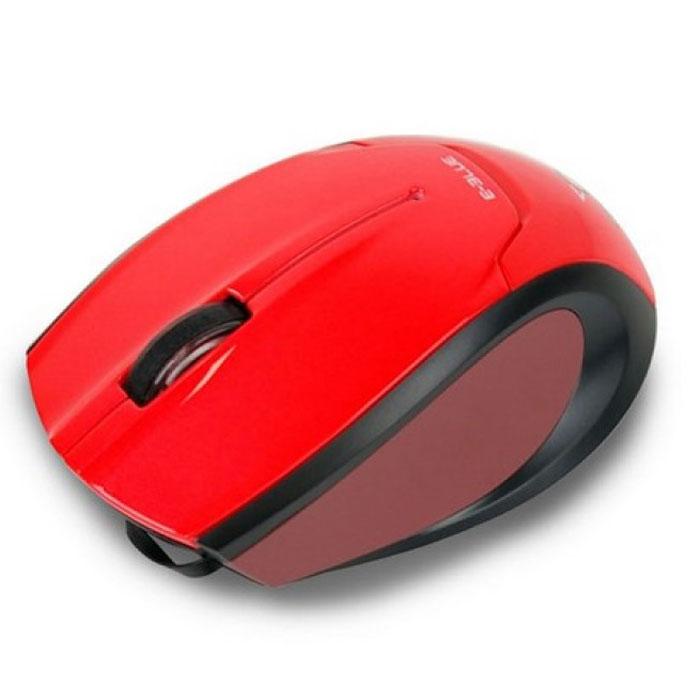 E-Blue EMS104 Extency, Red мышь проводная