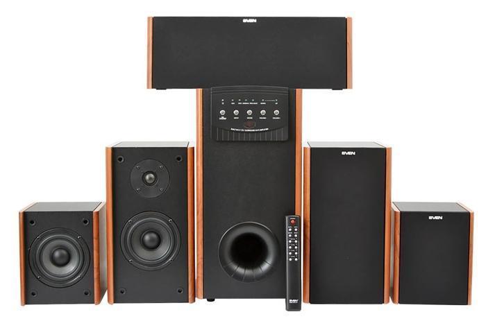 Sven IHOO MT 5.1P, Wood акустическая система 5.1
