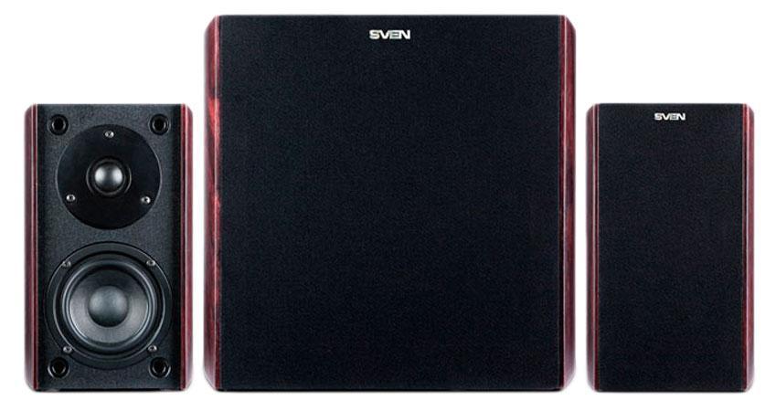 Sven MS-3000, Cherry акустическая система 2.1 с сабвуфером