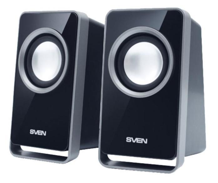 Sven 355, Black акустическая система 2.0