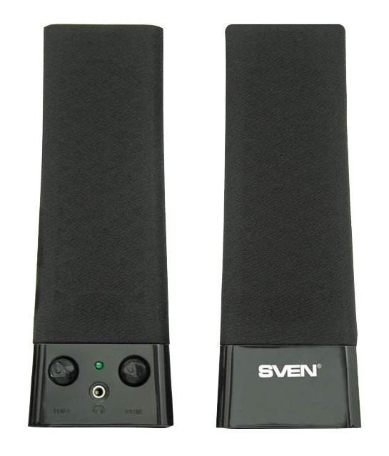 Sven 235, Black акустическая система 2.0 SV-0110235BK
