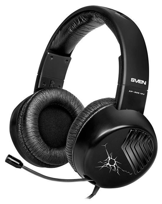 Sven AP-895MV, Black наушники с микрофоном