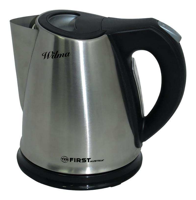 First FA-5407, Silver Black электрический чайникFA-5407 Silver/black