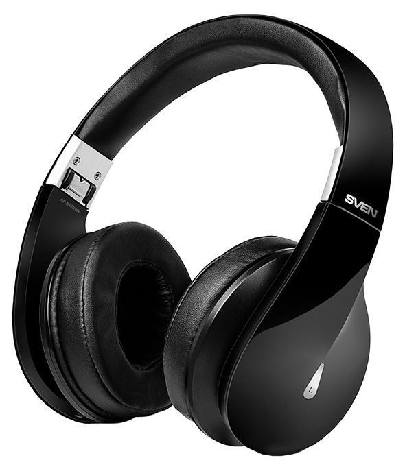 Sven AP-B570MV, Black беспроводные наушники с микрофономSV-013011Компания SVEN представляет блестящую модель – Bluetooth-стереогарнитуру AP-B570MV. В этой модели соединились запоминающийся дизайн и яркий, насыщенный звук. Широкий частотный диапазон SVEN AP-B570MV позволяет получить истинное наслаждение от прослушивания музыки любых жанров. Крупные чашки наушников идеально прилегают к ушам и обеспечивают надежную шумоизоляцию . Гарнитура SVEN – это качественный звук без помех даже в транспорте или в толпе людей. Черный глянцевый корпус гарнитуры выглядит стильно и солидно. Он легко складывается – для большой гарнитуры найдется место и в женской сумочке, и в упакованном под завязку чемодане. Крупные амбушюры AP-B570MV отделаны особым влагонепроницаемым материалом High protein с мягкими подушечками, обеспечивающим повышенный комфорт в использовании устройства. Новая версия Bluetooth обеспечивает крайне экономный расход энергии. Без дополнительной подзарядки модель способна проработать почти сутки. В комплекте со SVEN AP-B570MV поставляется...