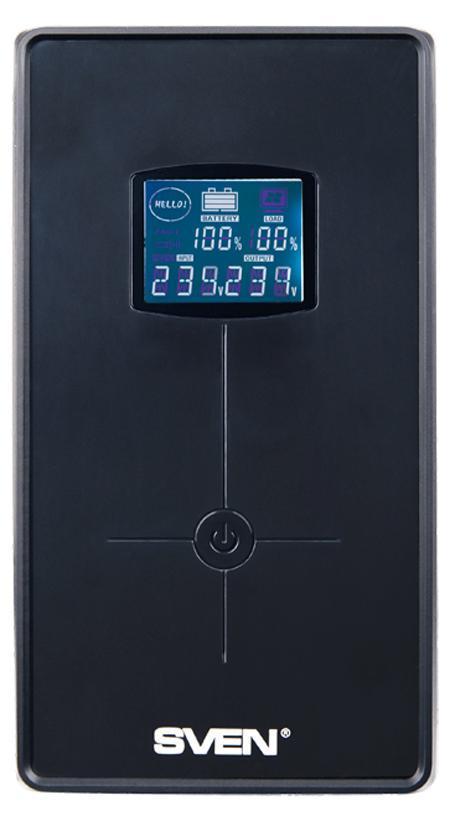 Sven Pro+ 650 источник бесперебойного питанияSV-00689Линейно-интерактивные источники бесперебойного питания SVEN Pro+ 650 предназначены для защиты персональных компьютеров, рабочих станций, а также серверов, оснащенных импульсными блоками питания. Благодаря встроенной батарее ИБП способен работать даже при полном пропадании электроснабжения, что позволяет пользователю сохранить данные и корректно завершить работу операционной системы. Встроенный стабилизатор сетевого напряжения позволяет понижать/повышать сетевое напряжение без перехода в режим работы от батареи и обеспечивать возможность длительной непрерывной работы. Эта особенность важна для сетей с нестабильным напряжением. ИБП Pro+ 650 снабжен функцией холодный старт, позволяющей принудительно включить ИБП при отсутствии сетевого напряжения. Встроенный порт USB позволяет производить мониторинг сети с компьютера, а так же производить корректное завершение работы в автоматическом режиме. Кроме того, ИБП оснащен многофункциональным ЖК-дисплеем, который...