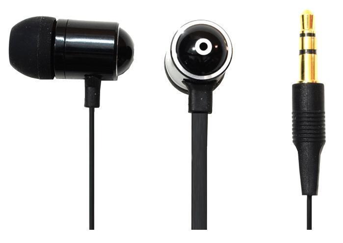 Oxion EPO511, Black наушникиEPO511BKНаушники OXION EPO511 (Затычки, 18-20kHz, 102±3dB, 32 Ом, металл, плоский шнур 1,2м). Плоский шнур в современном стиле. Металлический корпус, выполненный в инновационном дизайне с приятной акустикой и глубоким басом. Легкие и комфортные в применении.