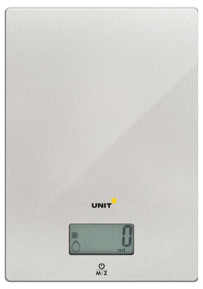 Unit UBS-2152, Steel весы кухонные ( UBS-2152 стальной )