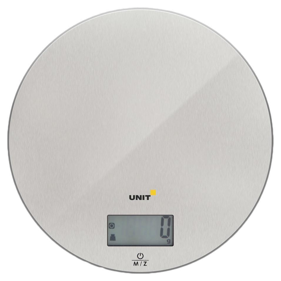 Unit UBS-2150, Steel весы кухонные ( UBS-2150 стальной )