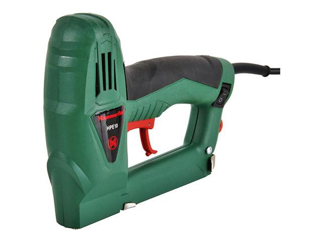 Hammer HPE10 электрический степлер