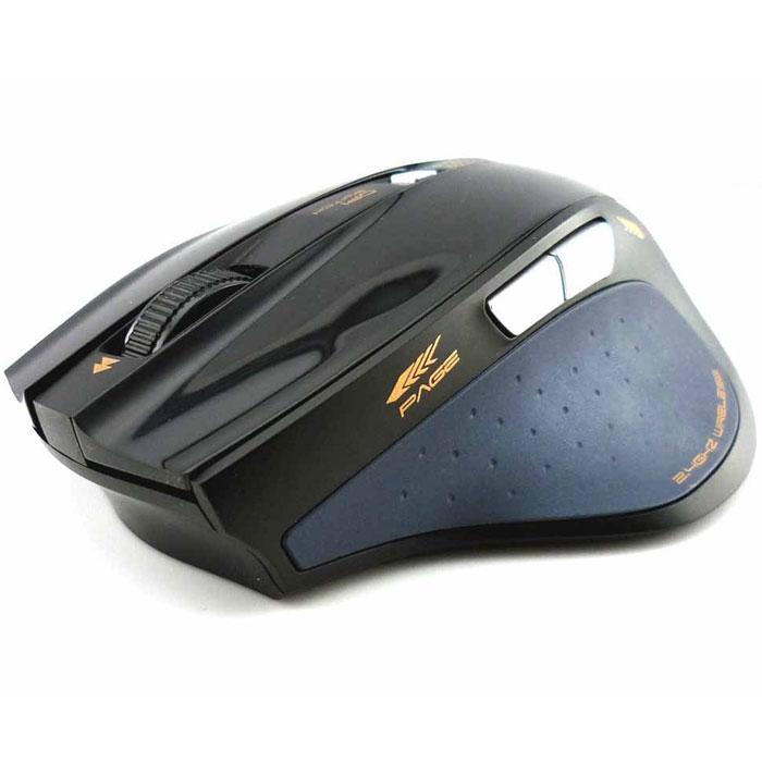 E-Blue EMS107 Fresco Pro, Black мышь беспроводная