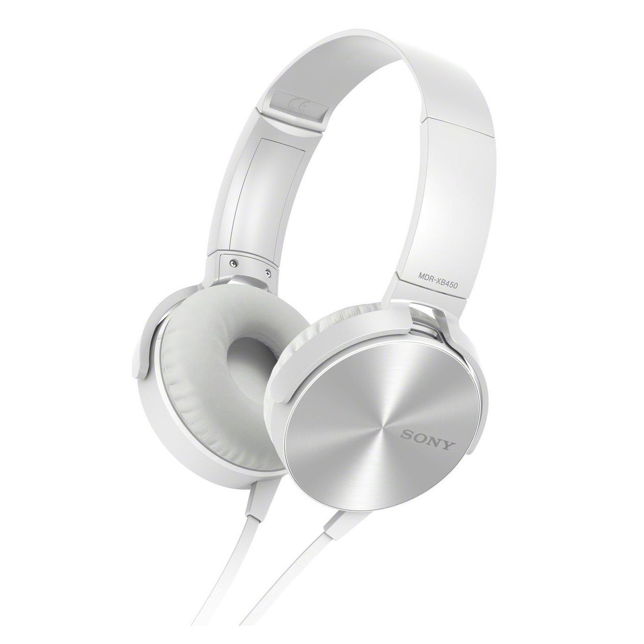 Sony MDR-XB450AP, White наушникиMDRXB450APW.E