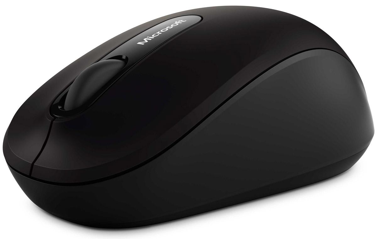 Microsoft Bluetooth Mobile Mouse 3600, Black беспроводная мышь