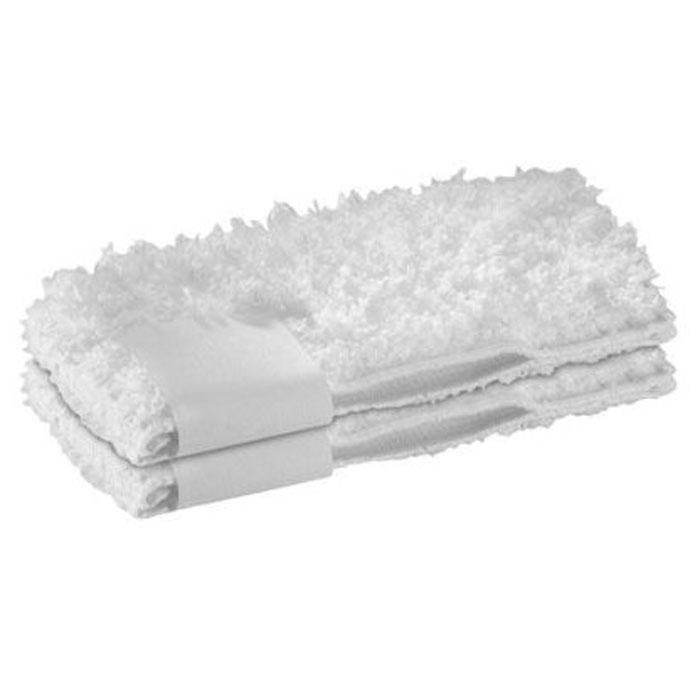 Karcher 28631740 Steam+Clean Cover набор насадок для пароочистителя, 2 шт karcher в москве дешево