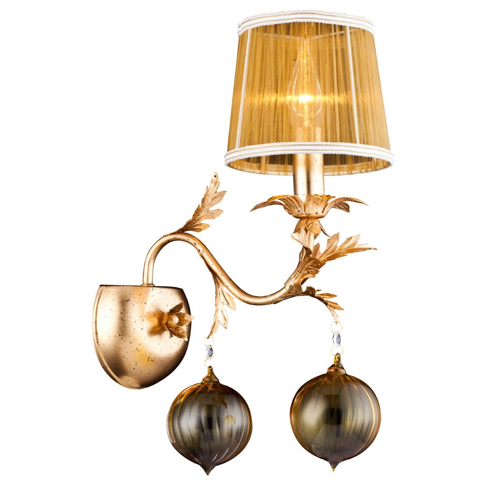 Светильник настенный Arte Lamp MONARCH A1199AP-1GOA1199AP-1GO