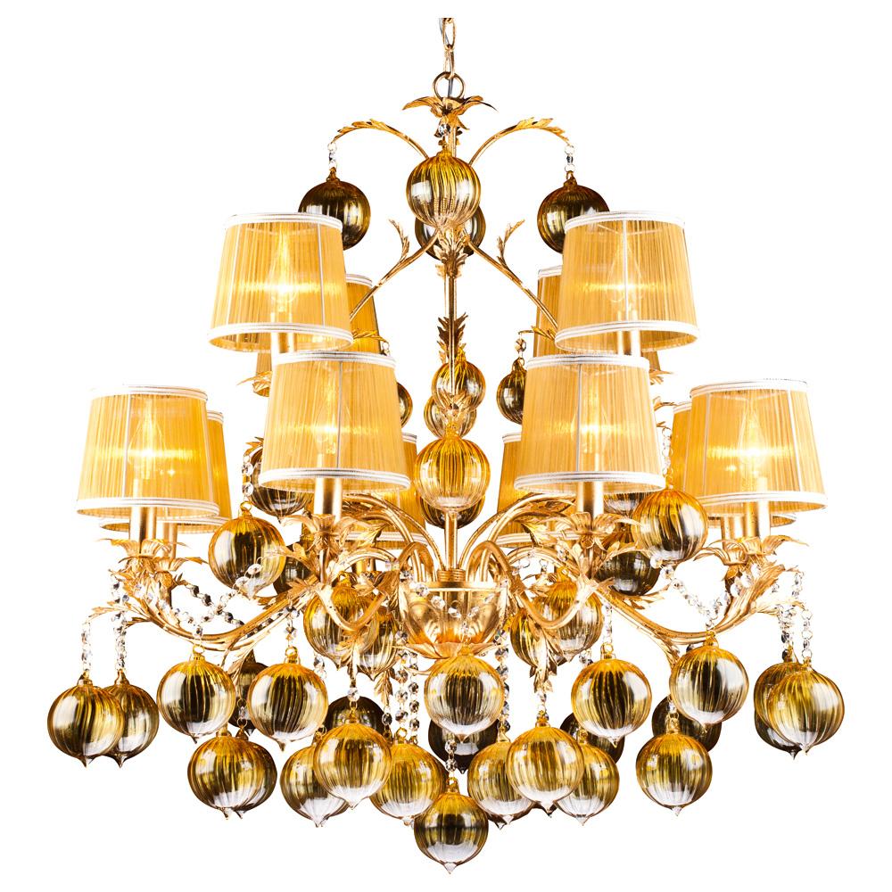 Светильник подвесной Arte Lamp MONARCH A1199LM-8-4GO