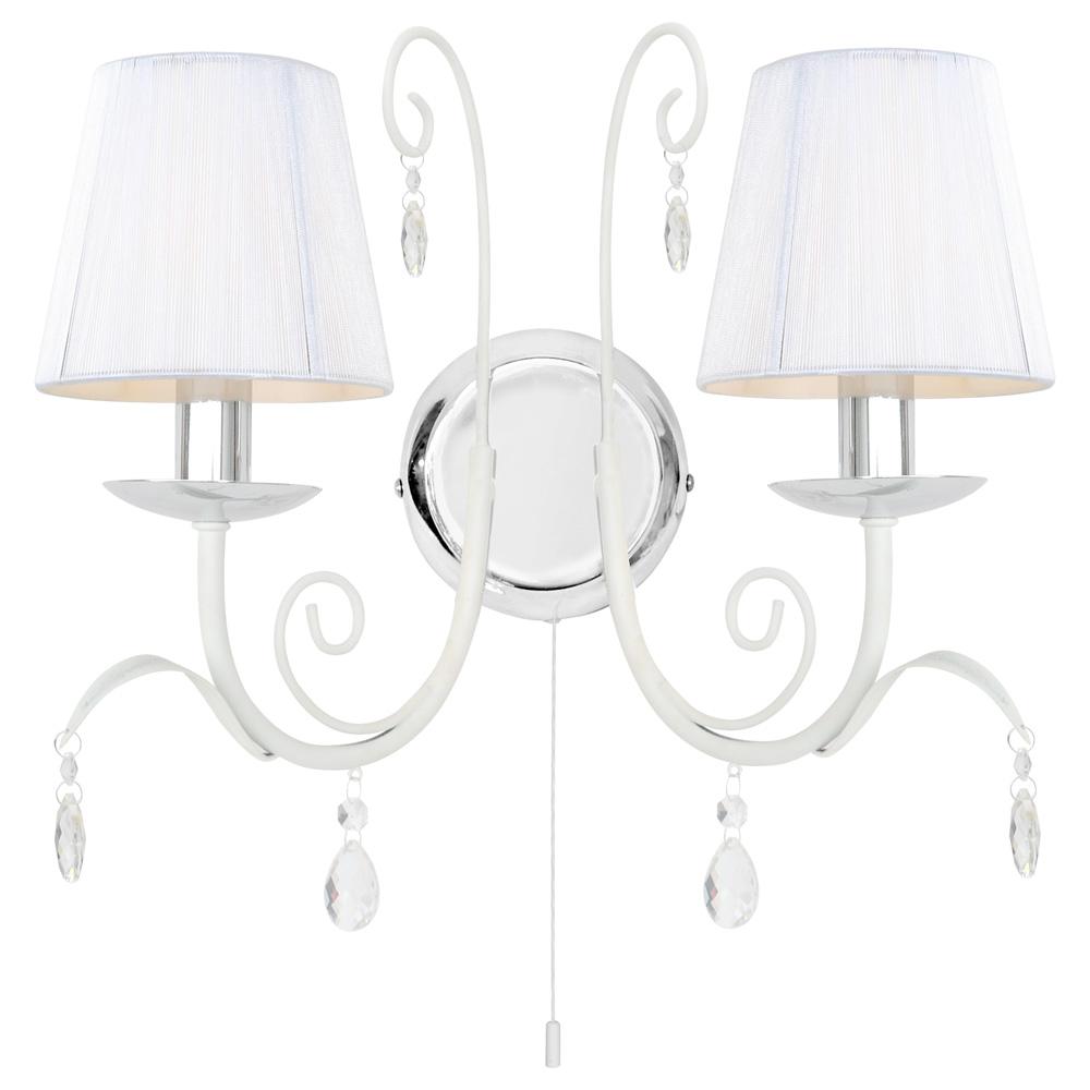 Светильник настенный Arte Lamp ROMANA SNOW A1743AP-2WHA1743AP-2WH