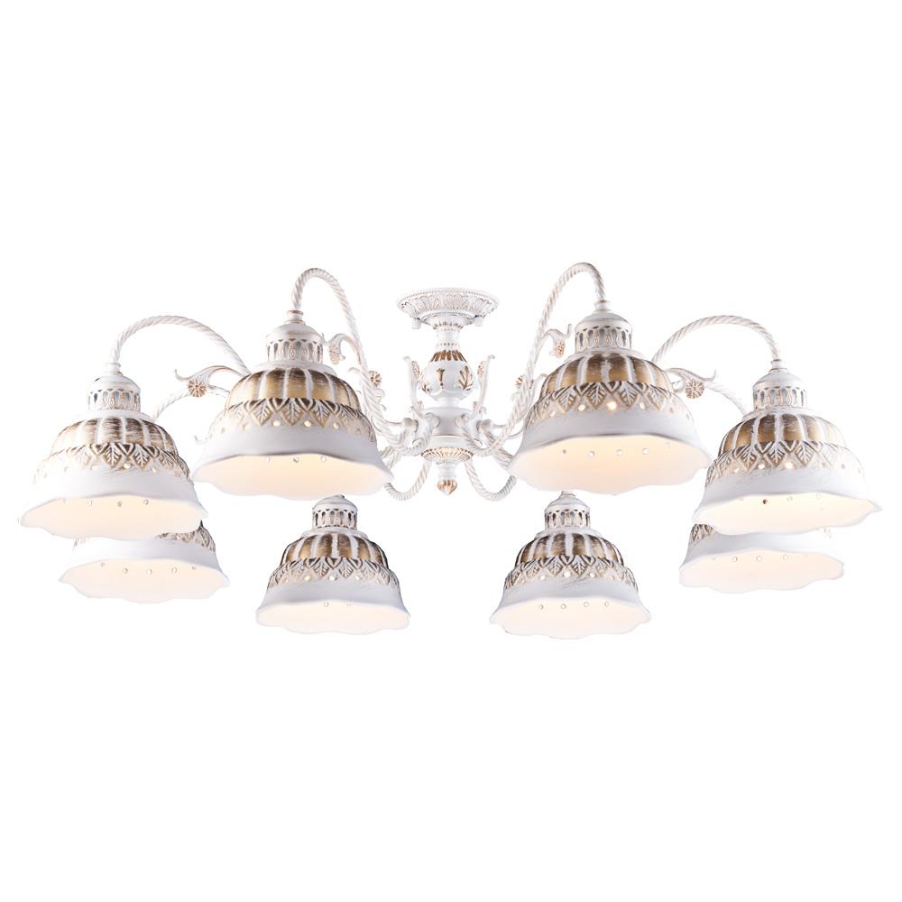 Светильник потолочный Arte Lamp CHIESA A2814PL-8WG