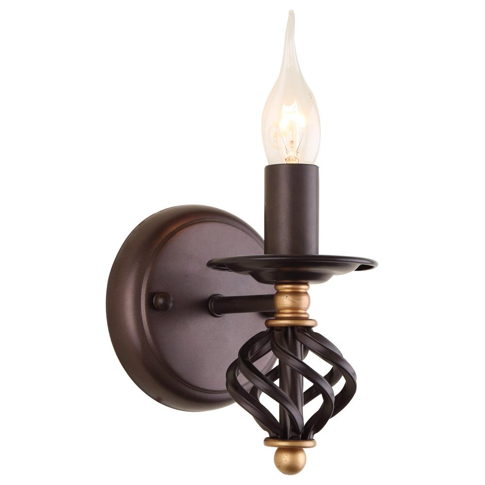 Светильник настенный Arte Lamp CARTWHEEL A4550AP-1CKA4550AP-1CK